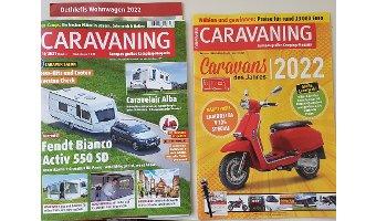Wahl der Caravans des Jahres 2022
